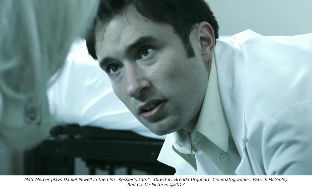 Matt Mercer in the film Kessler's Lab