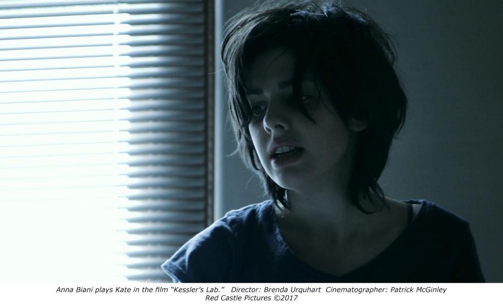 Anna Biani in the film Kessler's Lab