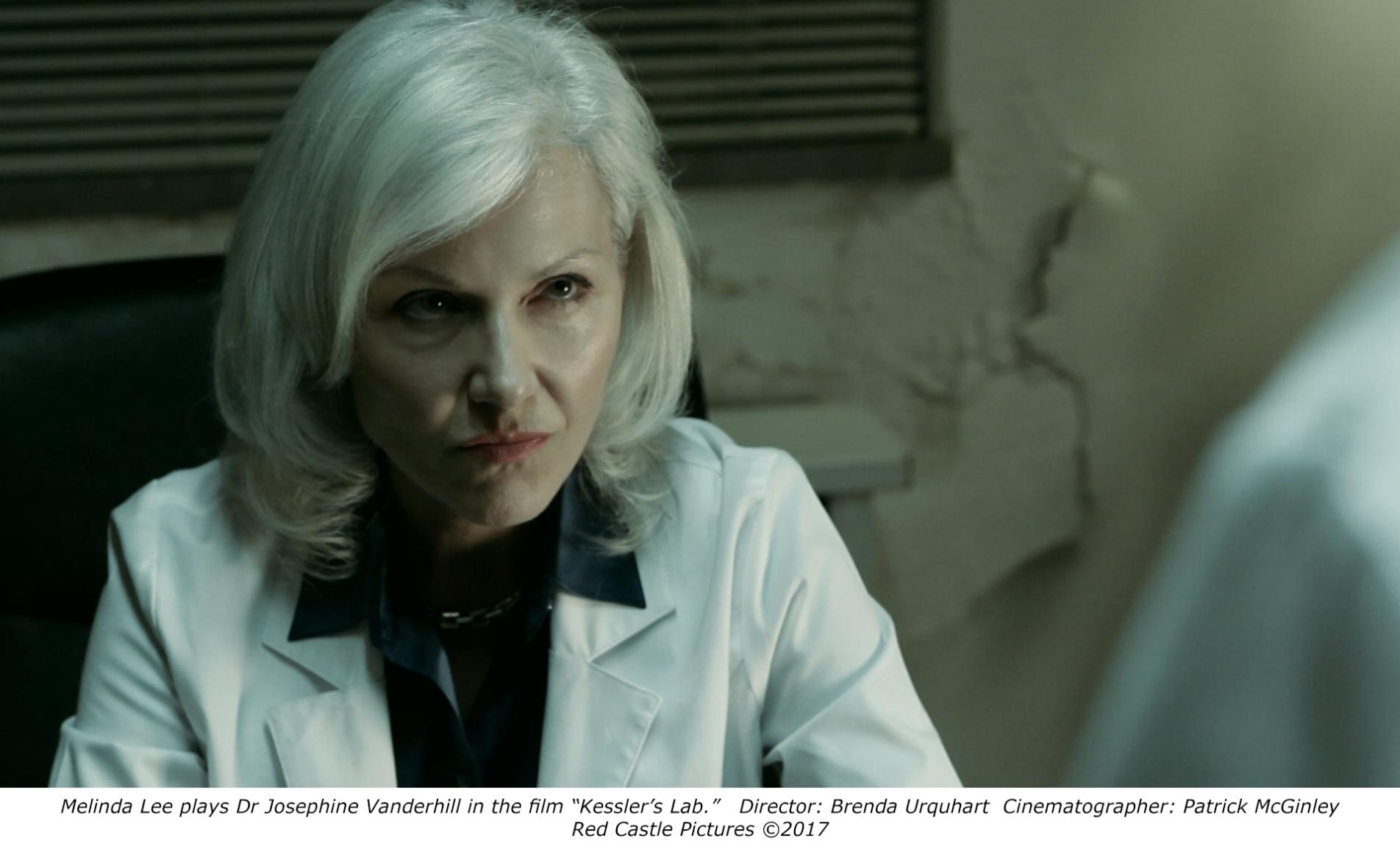Melinda Lee in Kessler's Lab